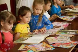Экскурсия для дошкольников «Вас зовет книжкин дом» | Саратовская область, город Маркс - 2016 год | marksadm.ru